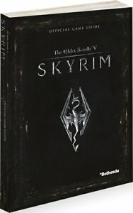 Elder Scrolls V: Skyrim Official Strategy Guide NEW with FREE SHIPPING