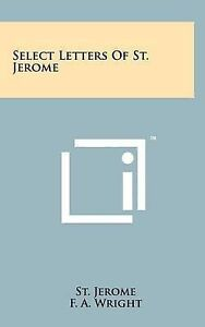 Select Letters of St. Jerome -Hcover