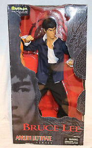 "Art Asylum Bruce Lee Action Figure 18"" - MIB"