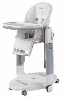 Peg-Perego TATAMIA Baby High Chair+Recliner+Rocking Cradle Burwood Whitehorse Area Preview