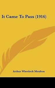 It-Came-to-Pass-1916-Hcover