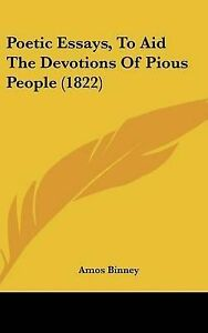 NEW-Poetic-Essays-to-Aid-the-Devotions-of-Pious-People-1822-by-Amos-Binney