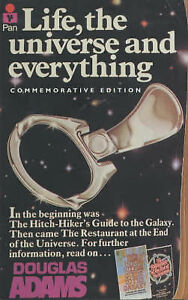 LIFE,THE UNIVERSE AND EVERYTHING. SCI-FI PAPERBACK BY DOUGLAS ADAMS.
