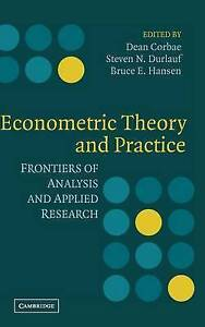 Econometric Theory and Practice: Frontiers of An, , New