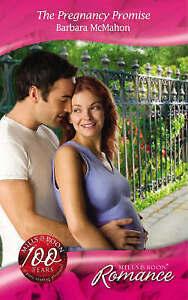 The Pregnancy Promise (Mills & Boon Romance), McMahon, Barbara, Very Good Book