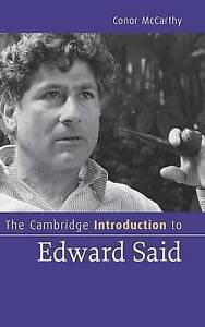 The Cambridge Introduction to Edward Said (Cambridge Introductions to Literature