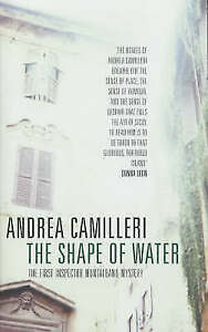 Good, The Shape of Water, Camilleri, Andrea, Book