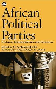 Salih-African Political Parties  BOOK NEW