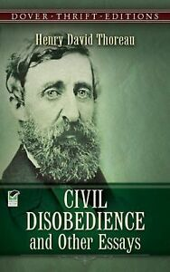 civil disobedience and other essays henry david thoreau