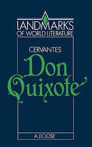 Cervantes: Don Quixote (Landmarks of World Literature)-ExLibrary