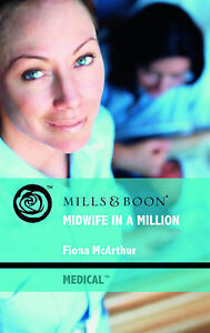 Fiona McArthur, Midwife in a Million (Mills & Boon Medical), Very Good Book