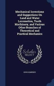 Mechanical Inventions and Suggestions On Land and Water Locomotion, Tooth Machin