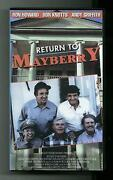 Andy Griffith Show VHS
