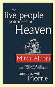 The Five People You Meet in Heaven, Mitch Albom, New