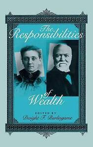 The Responsibilities of Wealth (Philanthropic Studies)-ExLibrary