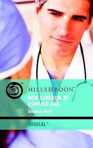 Joanna Neil, New Surgeon at Ashvale A&E (Mills & Boon Medical), Very Good Book