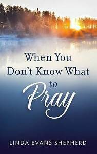 When You Don't Know What to Pray by Shepherd, Linda Evans -Paperback