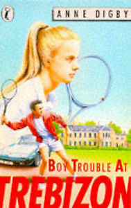 Boy Trouble at Trebizon (Puffin Books), Anne, Digby, Very Good Book