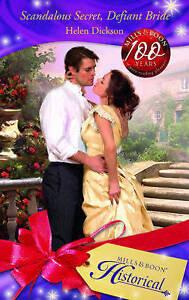 Scandalous-Secret-Defiant-Bride-by-Helen-Dickson-Historical-Paperback
