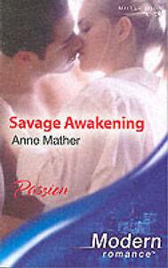 savage awakening mills boon modern anne mather paperback. Black Bedroom Furniture Sets. Home Design Ideas