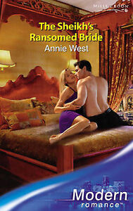 The-Sheikhs-Ransomed-Bride-Modern-Romance-Annie-West-Paperback-Book