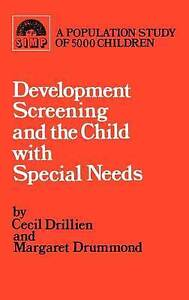 Developmental screening and the child with special needs (Clinics in Development