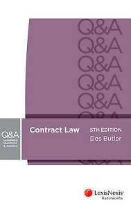 Lexisnexis-Questions-and-Answers-Contract-Law-by-Des-Butler-Paperback-2014