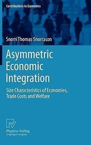 Asymmetric Economic Integration: Size Characteristics of Economies, Trade Costs