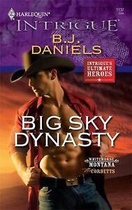 Harlequin big sky dynasty b j daniels paperback new 0373694040 ebay