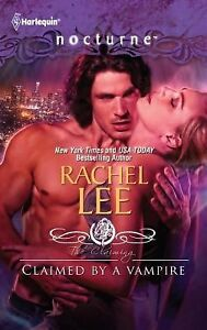 Claimed by a Vampire 129 by Rachel Lee (2012, Paperback) Harlequin Nocturne New
