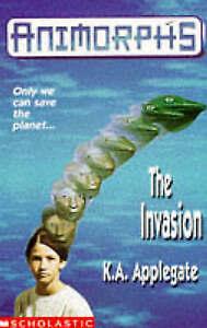 The Invasion (Animorphs), Applegate, Katherine, Very Good Book