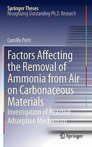 Factors Affecting the Removal of Ammonia from Air on Carbonaceous Materials:...
