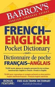 Barrons-Pocket-Bilingual-Dictionaries-Barrons-French-English-Pocket
