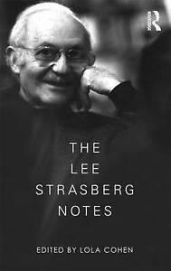 NEW The Lee Strasberg Notes