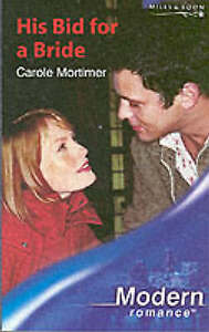His Bid for a Bride (Mills and Boon Modern), Mortimer, Carole, Good Book