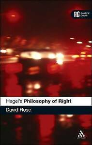 Hegel's Philosophy of Right: A Reader's Guide (A Reader's Guides), 0826487114, N