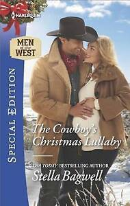 The Cowboy's Christmas Lullaby (Men of the West)-ExLibrary
