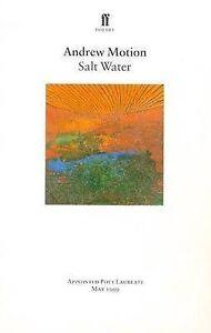 Good, Salt Water (Ff Poetry), Motion, Sir Andrew, Book