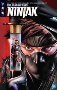 Ninjak, Volume 2: The Shadow Wars by Kindt, Matt -Paperback