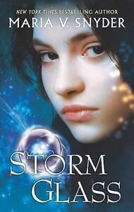 Storm Glass by Maria V. Snyder (Paperback / softback, 2010)