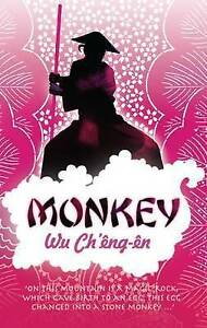 Monkey, By Ch'eng-en, Wu,in Used but Acceptable condition