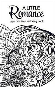 A Little Romance: A Purse-Sized Coloring Book by Harlequin -Paperback