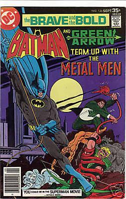 Brave & the Bold #136 comic 1977 Batman Green Arrow