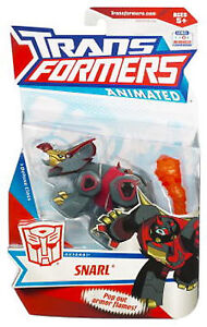 Transformers Deluxe Animated Autobot Snarl