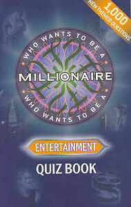 """VERY GOOD"" Celador, Who Wants To Be a Millionaire? Entertainment Quiz Book, Boo"