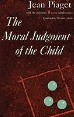 The Moral Judgment of the Child by Jean
