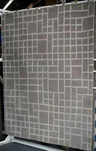 New NZ Plush Wool Urban Earth Grey Square Design Rugs Melbourne CBD Melbourne City Preview