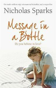 Message In A Bottle, Sparks, Nicholas, New Book