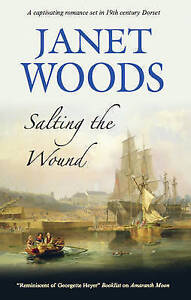 """VERY GOOD"" Woods, Janet, Salting the Wound, Book"