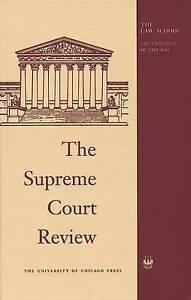 The Supreme Court Review 2010, Dennis Hutchinson